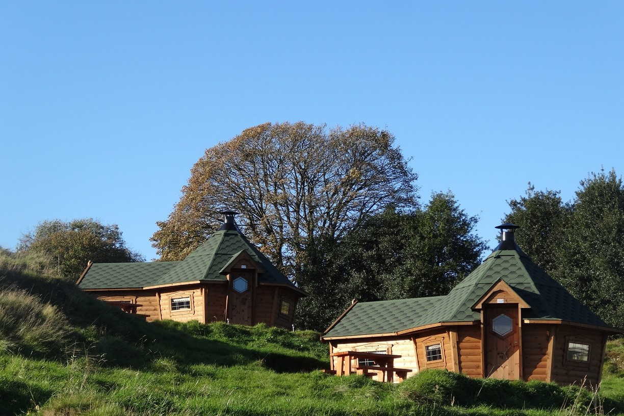 Camping Cabins Banner Image