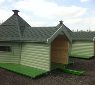 Chester Lakes Gets Five New Moveable Camping Cabins