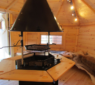 Barbecue Cabin is a great experience at Godremamog Mill